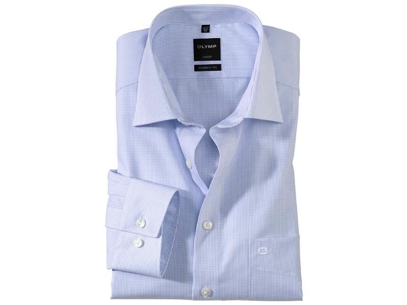 30f2d4dff3 Az OLYMP Luxor modern fit ing 100 % pamutból készül, mely a kikészítésének  köszönhetően lélegzőanyag, teljes mértékben bőrbarát. Jól szellőzik,  felszívja az ...